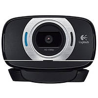 Веб-камера 2.0 Мп с микрофоном Logitech HD Pro Webcam C920 Black (960-001055)