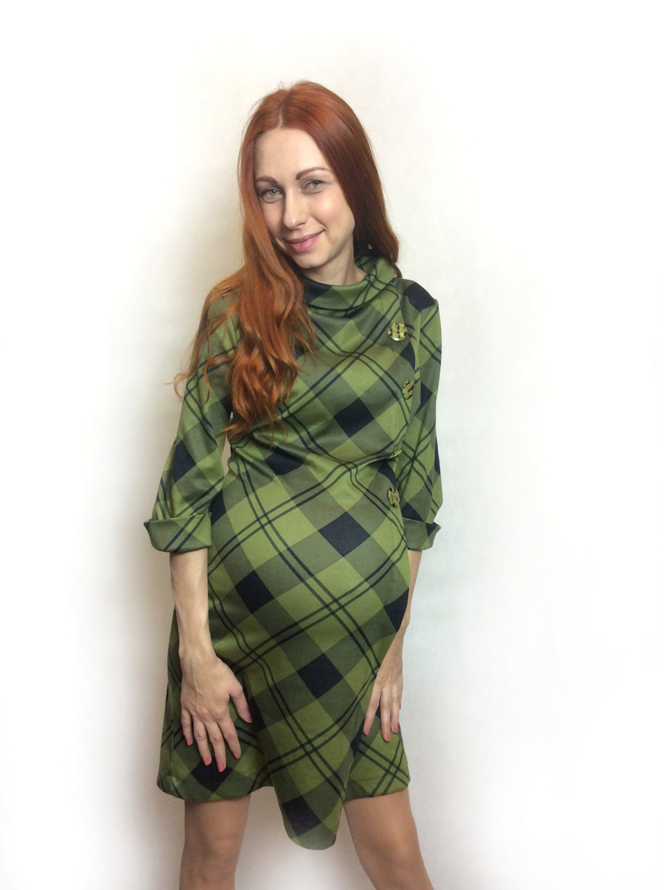 Платье-туника для беременных П190