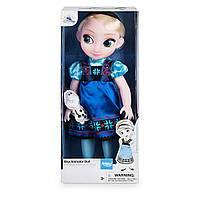 Кукла Дисней Disney Animators' Collection Elsa Doll - Frozen - 16'', 40см Оригинал