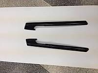 Карбоновые накладки на подлокотники W216 MPdesign