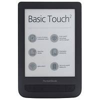 Электронная книга PocketBook 625 Basic Touch 2 Black (PB625-E-CIS)