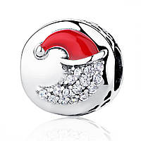 """Шарм Pandora Style (стиль Пандора) """"Рождественский месяц"""""""