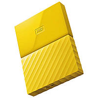 Жесткий диск внешний HDD 3072 Gb USB 3.0 Western Digital My Passport Yellow (WDBYFT0030BYL-WESN)