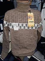 Теплый шерстяной свитер для мальчика и подростка