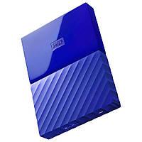 Жесткий диск внешний HDD 2048 Gb USB 3.0 Western Digital My Passport Blue (WDBYFT0020BBL-WESN)