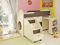 Кровать-чердак Горка в детскую комнату от производителя, фото 1