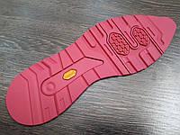 """Подошва  резиновая """"лаваш"""" BISSELL BL-23 цвет розовый размер 38-38"""