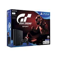 Игровая приставка Sony PlayStation 4 1TB + GT Sport (ОФИЦИАЛЬНАЯ ГАРАНТИЯ) Black