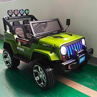 Детский электромобиль Джип 4 мотора, 2 аккумулятора