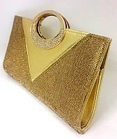 Клатч ZPT-197 Golden (28х16см), фото 1