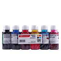Комплект чернил Epson TX650 6х100мл ColorWay (CW-EW650SET01)