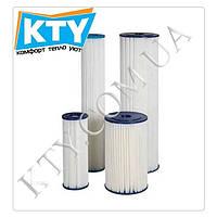 Картридж гармошечный Aquafilter FCCEL10 (из полиэстра, многоразовый, 10 микрон - 9 7/8 x 2 1/2 дюймов)