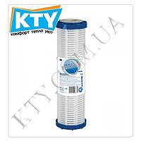 Картридж сетчатый Aquafilter FCPNN50M (из полипропилена и нилоновой сетки, многоразовый, 50 микрон для корпусов фильтров 10 дюйм