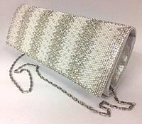 Клатч ZPT-1055 Silver (24х10см), фото 1