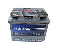 Аккумулятор FLAGMAN 6СТ-60, 510En, габариты 242х175х190, гарантия 18 мес, стандарт класс