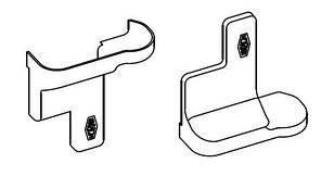 Комплект накладок на ходовой комплект Коричневый