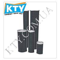 Картридж угольный прессованный Aquafilter FCCBL20BB (для корпусов фильтров типа 20BB, 20 x 4 1/2 дюймов)