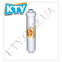Картридж умягчающий Aquafilter AISTRO (линейный, резьба на1/4 дюйма, 2 х 10 дюймов)