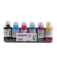 Комплект чернил Epson L800 6х100мл ColorWay (CW-EU800SET01)
