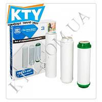 Комплект картриджей Aquafilter FP3-K1-CRT (для систем серии FP3, умягчение - FCPS5, FCCST2, FCCBKDF)