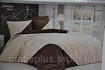 Двухспальный комплект постельного белья First De-Luxe (сатин)