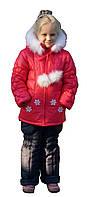 """Зимняя куртка и комбинезон (комплект) для девочек """"Даринка"""""""