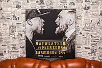 Флойд Майвезер и Конор Макгрегор. Бокс. Картина на холсте. 50х50 см.