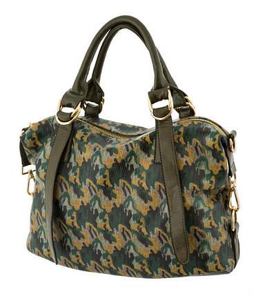 Жіноча сумка з принтом. 5 кольорів., фото 2
