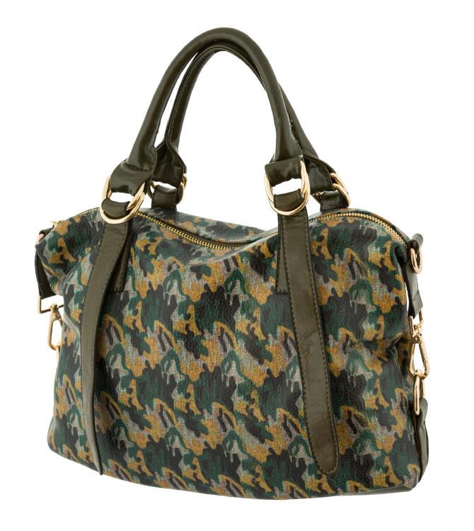Жіноча сумка з принтом. 5 кольорів.