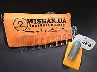 """Super """"Wishak"""" вішалка з логотипом , брендування тремпелів Plast-systemy"""