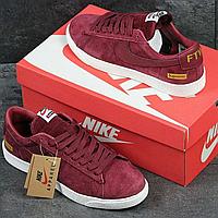 Кроссовки демисезонные мужские Nike Supreme FTW 3911 красные