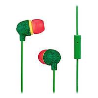 Наушники вакуумные с микрофоном House of Marley Little Bird Rasta  (EM-JE061-RA 8adac13ec14cc