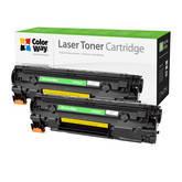 Картридж лазерный ColorWay для HP:CE285A Dual Pack (CW-H285FM)
