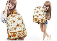 Молодежные рюкзаки с цветами. 5 Цветов