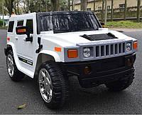 Детский электромобиль джип Hummer X 790, 4 мотора, кожа, колёса EVA резина