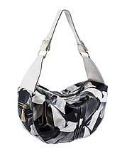 Кожаная женская сумка - мешок., фото 2