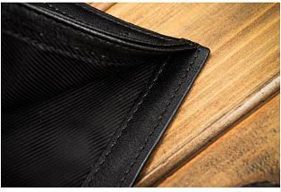 Чоловічий гаманець Bogesi. Коричневий і чорний. Портмоне., фото 3