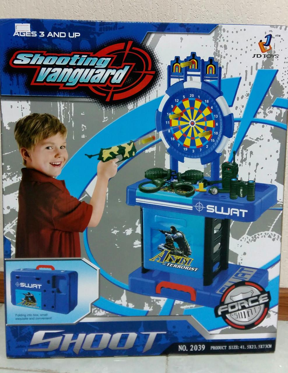 Игровой набор для мальчика ТИР с пистолетом