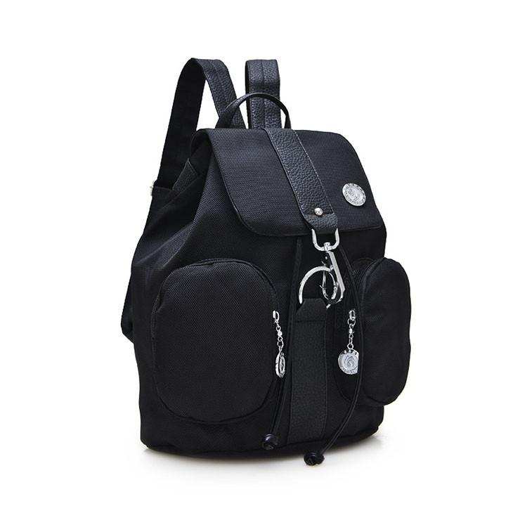 Жіночий молодіжний рюкзак чорного кольору. Міський рюкзак.