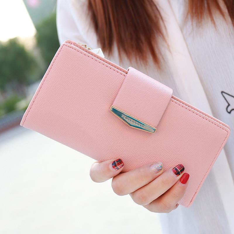 173b13000689 Большой женский кошелек Prettyzys. Красивый и стильные кошельки, 5 цветов