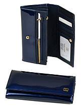 Великий шкіряний гаманець Bretton. Лакові гаманці жіночі., фото 2