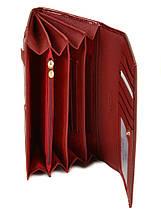 Великий шкіряний гаманець Bretton. Лакові гаманці жіночі., фото 3