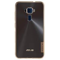 Накладка для Asus ZenFone 3 (ZE552KL) силикон Nillkin Nature TPU Золотой