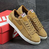 Кроссовки демисезонные мужские Nike Supreme FTW 3913 песочные, фото 1