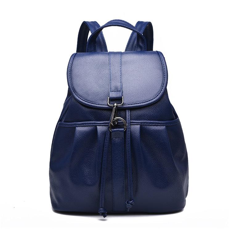 Жіночий міський рюкзак. Стильні жіночі рюкзаки в чотирьох кольорах: червоний, чорний, бежевий, синій.