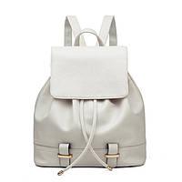 f7296a3455e4 Женский городской рюкзак. Стильные женские рюкзаки в четырех цветах:  красный, черный, бежевый
