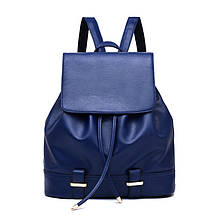 Жіночий міський рюкзак. Стильні жіночі рюкзаки в чотирьох кольорах: червоний, чорний, бежевий, синій, жовтий., фото 3