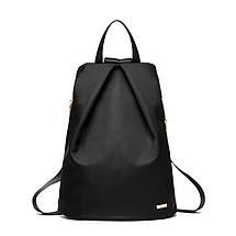 Рюкзак міський жіночий. Модні рюкзаки. Чорний, синій і фіолетовий колір., фото 3