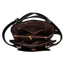 Жіноча сумка рюкзак трансформер. Стильні жіночі рюкзаки в трьох кольорах: червоний, чорний, бежевий., фото 2
