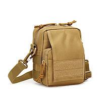 Маленькие мужские сумки через плечо из ткани.